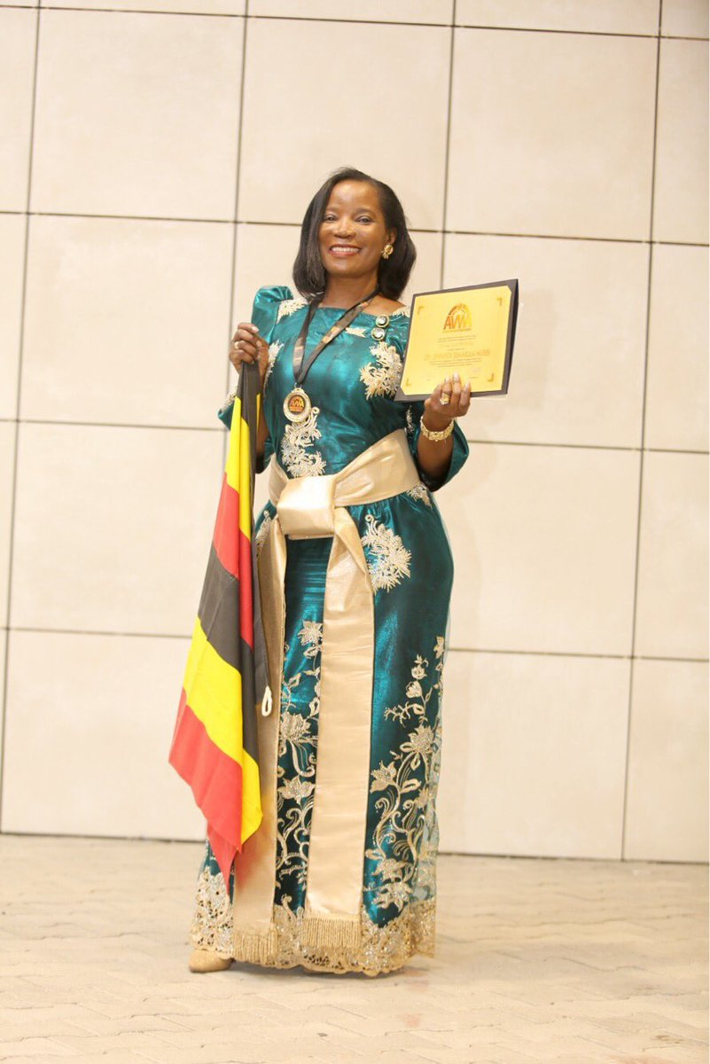 Jennifer Musisi Scoops African Agent of Change Prize in the African Virtuous Women Award 2018
