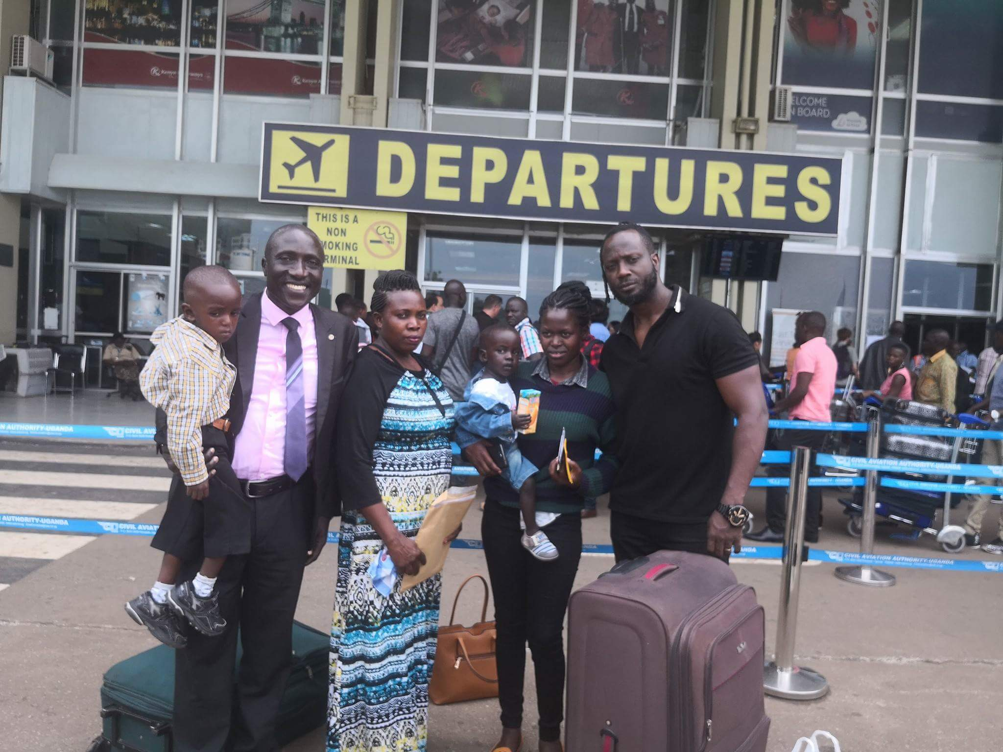 Bebe Cool sees children with Heart Disease off to India