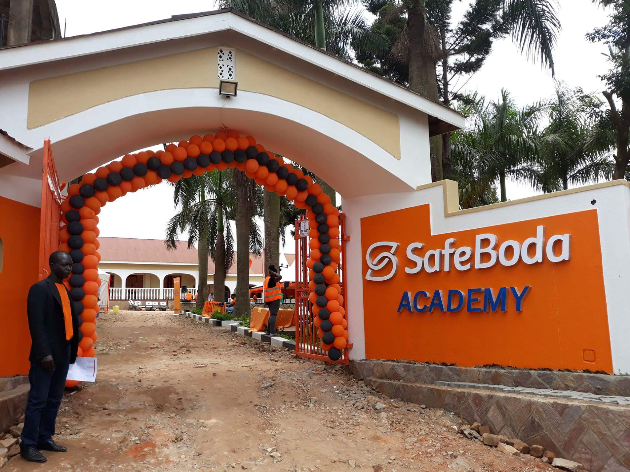 Safe Boda Opens Training Academy in kyebando