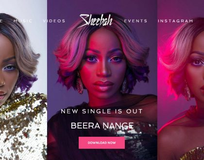 Sheeba Karungi Opens Official Website