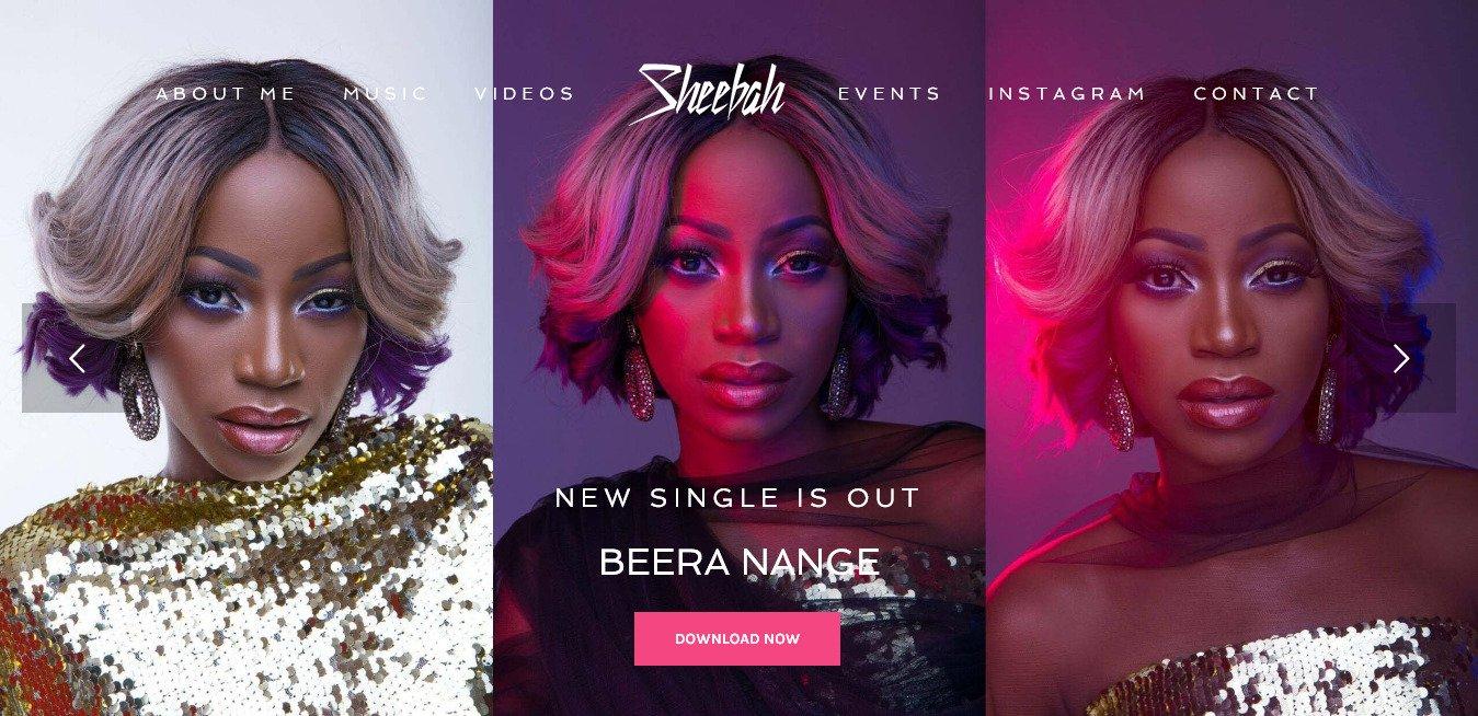 Sheeba Karungi Opens Official Website