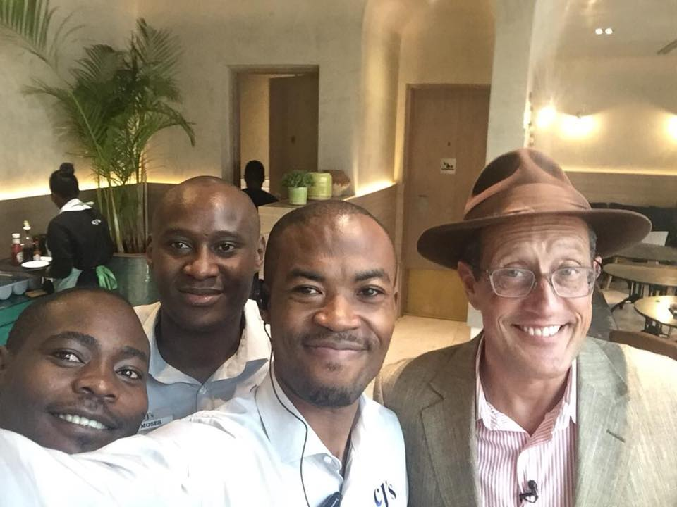 CNN International Anchor, Richard Quest Visits Cafe Javas Branch