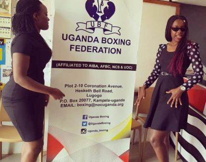 Lucky Mbabazi Partners with Uganda Boxing Federation For Work Out Session