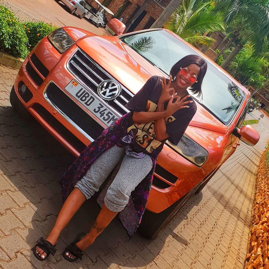 Sheebah Karungi Gets New Ride