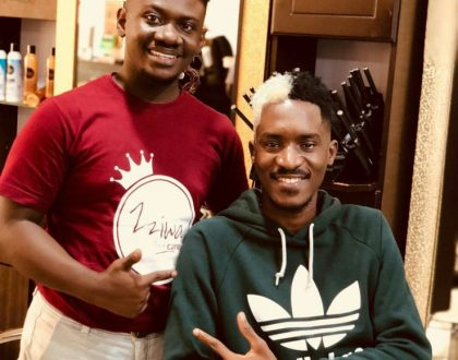 Apass claims he spent 6 million on his new HairStyle