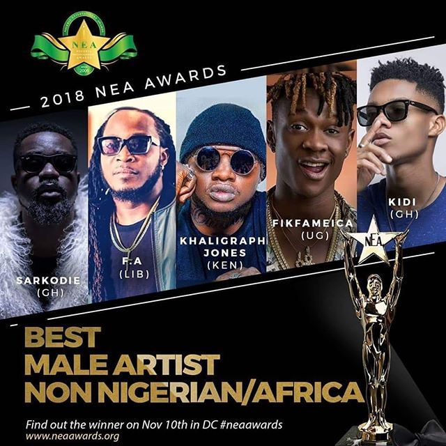 Fik Fameica Basks in the glory of his first international nomination