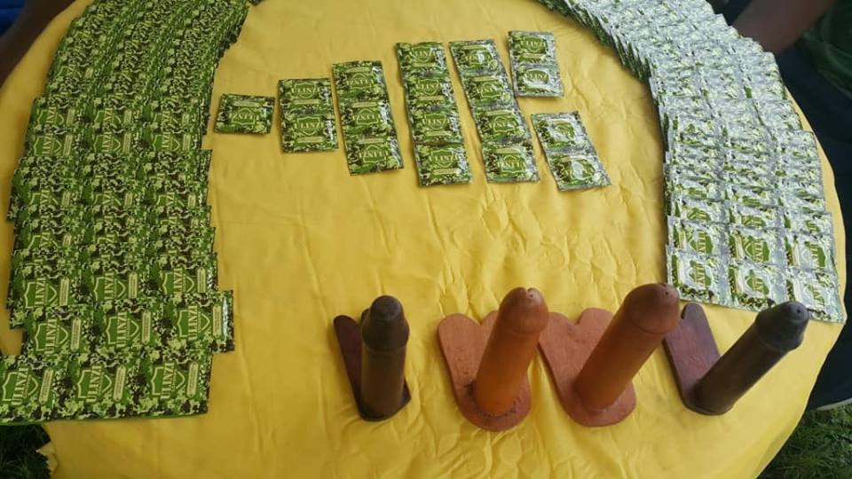 UPDF goes into the Manufacturing condoms business