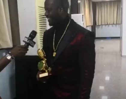 Bebe Cool beats Diamond Platinumz to Win Best Male East African Artist at AFRIMA Awards