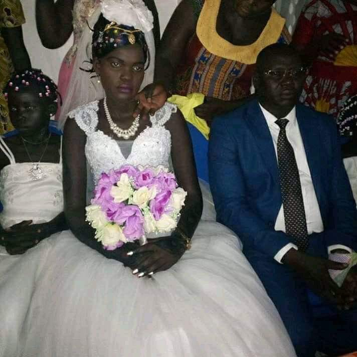 South Sudanese Virgin, Nyalong Gets Married