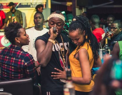 Ykee Benda Cries on Social Media. Could he be in Love?