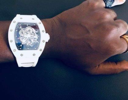 Ykee Benda's Girlfriend Buys Him 2000$ Watch for Birthday Gift
