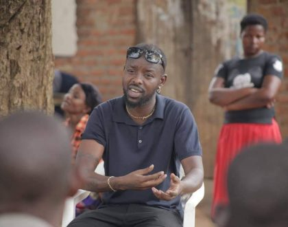 Eddy Kenzo Visits His Hometown. Plans to Develop it.