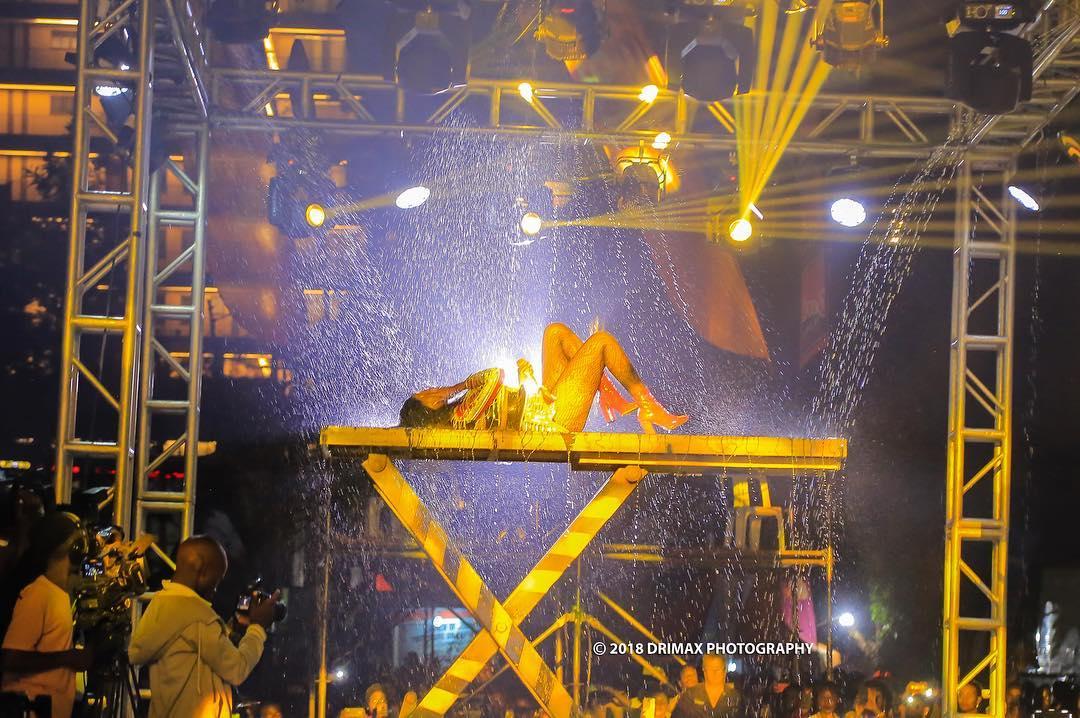 Sheebah Shuts It Down at Omwooyo Concert