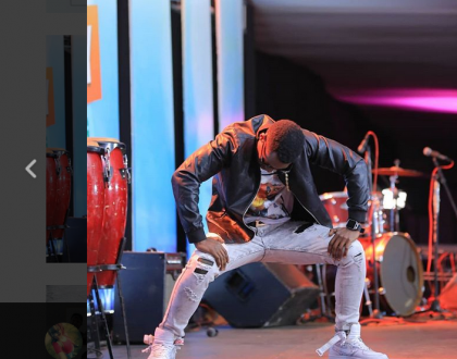 Michael Ross thrown off Ginuwine Stage