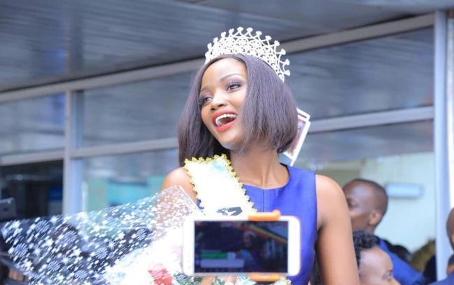 Upcoming artiste Jim Nola composes a song to celebrate Miss Africa Quinn Abenakyo