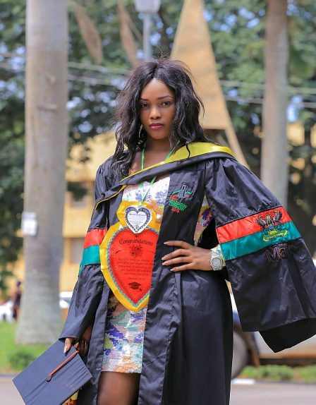 Celebrities in this year's Makerere graduation