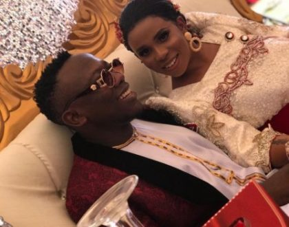 Geosteady Blackman finally introduced by baby mama