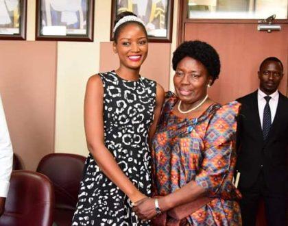 Hon Rebecca Kadaga Commits To Support Quin Abenakyo