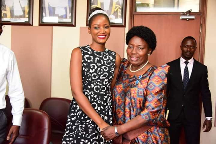 Hon Rebecca Kadaga Commits To Support Quin Abenakyo