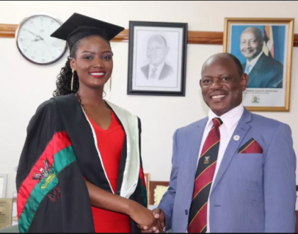 'MUBS graduated Miss Uganda Abenakyo to avoid embarrassment ,Her degree was fake but she made the country Proud' Professor Balunywa says