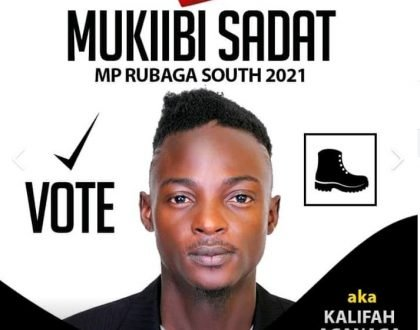 Khalifa Aganaga to challenge  Kato Lubwama  come 2021 general elections for Lubaga South Member of Parliament seat
