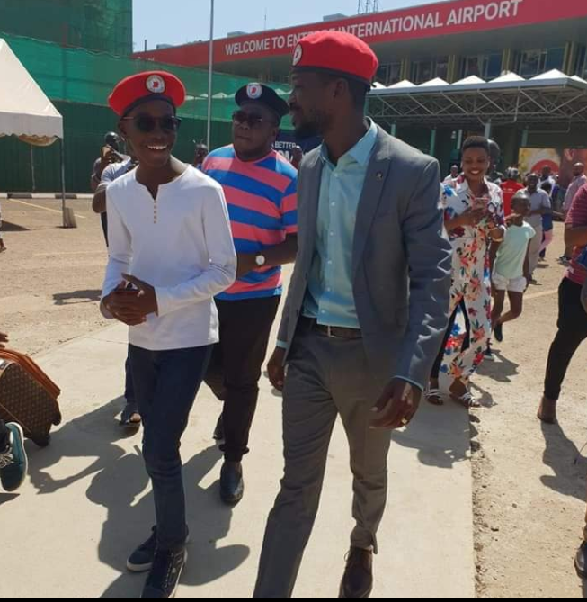 Bobi wine returns, Welcomed By Few