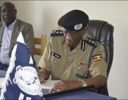''Loving People Power Movement is not a crime ,''says IGP OCHOLA