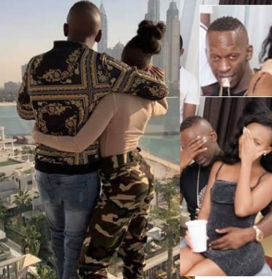 Sheila Gashumba showers praises on new Lover , leaves fans in awe .