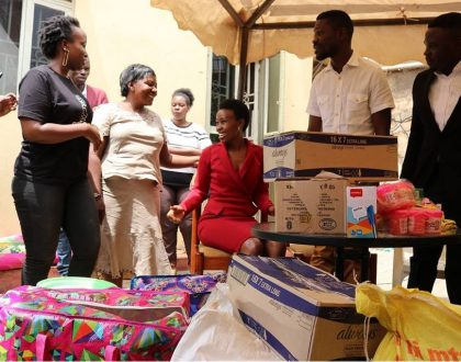 PICTORIAL ; Bobi Wine celebrates birthday with the less priviledged