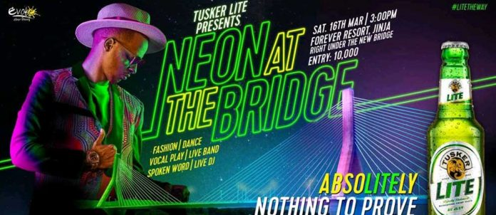 Are you ready for Neon at the Jinja bridge Party?