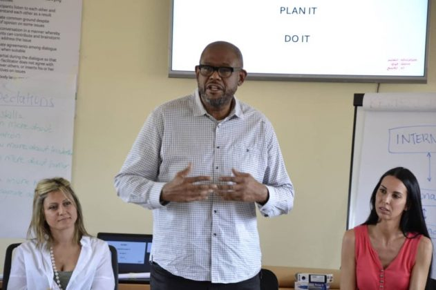 Forest whitaker back in Uganda for peace project