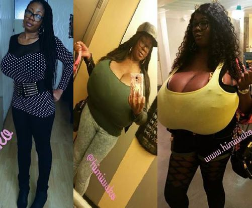 Growing big tits