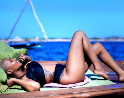 Joy Kendi shows off her incredible figure in new sexy swimsuit as she talks about her body insecurities