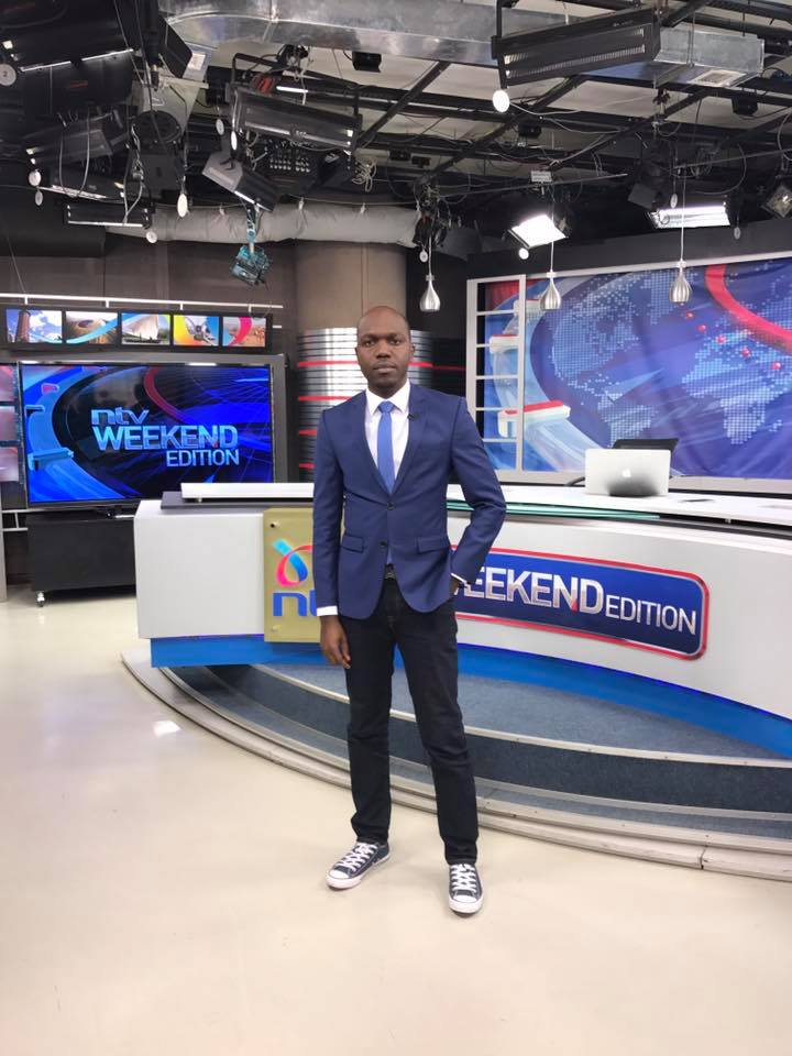 Larry Madowo narrates how Lupita Nyong'o threw him out of an interview after he asked her annoyingly ridiculous questions
