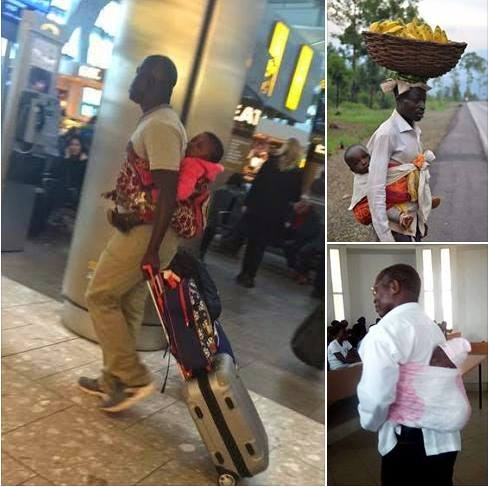 From a University professor to a working dad in Kisumu…These are the 6 proud men who openly carry babies on their backs without feeling ashamed (Photos)