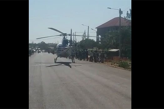 Don't mess with Luos! Angry reactions from Luos after media reported that the pilot who landed a chopper on a road in Bondo did so to ask for direction