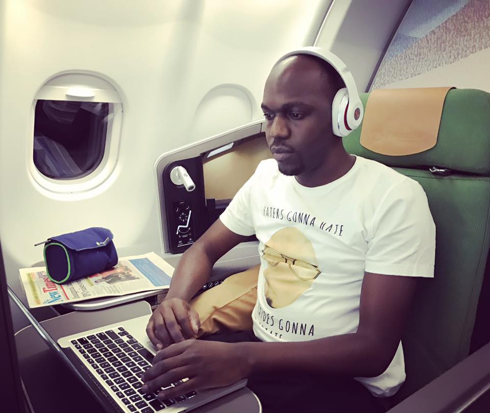 Larry Madowo writes a beautiful message appreciating the beautiful fashionable lady in his life