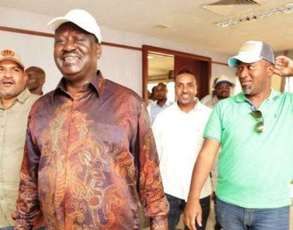 """Jacob Juma killers are hunting Hassan Joho"" Raila Odinga warns of dire consequences as he uncovers plan to assassinate Joho"
