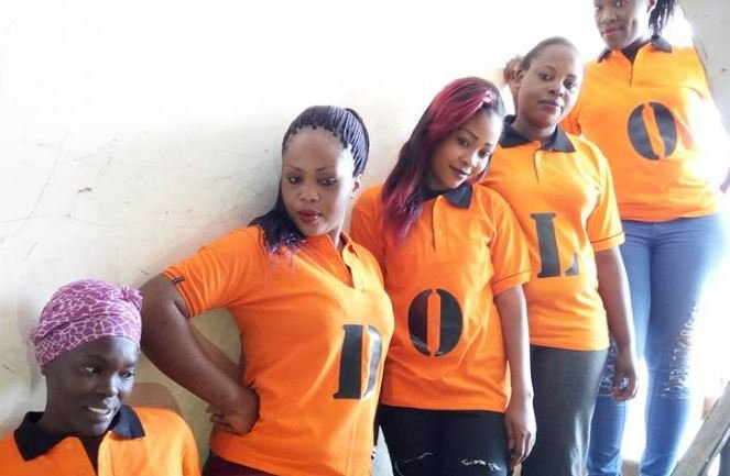Reuben Ndolo launches a colorful door to door campaign in Nairobi using five hot babes