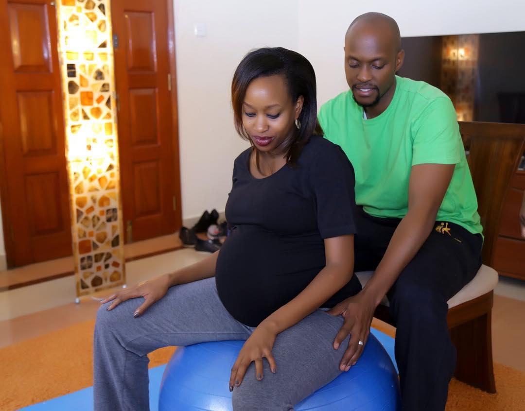 Image result for pregnant janet mbugua