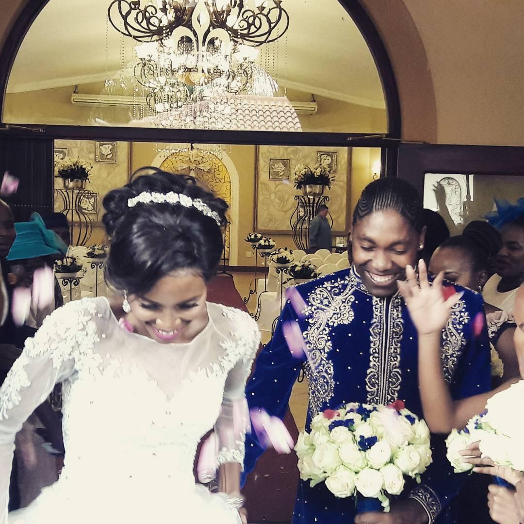 Caster Semenya weds the love of her life in lavish white wedding on her birthday