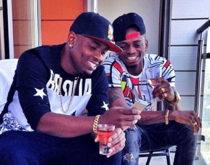 Diamond Platnumz and Ommy Dimpoz