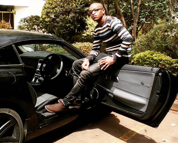 """""""Nimedandia ya babako umbwa wewe"""" Prezzo in an ugly fight with a critic who told him to his face that he's riding high on his parent's wealth"""