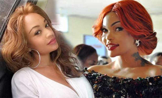 Maajabu! Wema Sepetu spotted hanging out with Zari Hassan, are they now friends? (Photo)