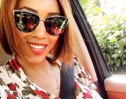 These pictures of Ebru TV presenter Doreen Gatwiri recently surfaced online and are driving men insane….she's definitely one of the Kenyan celebrities anyone would want to take a bite of (photos)