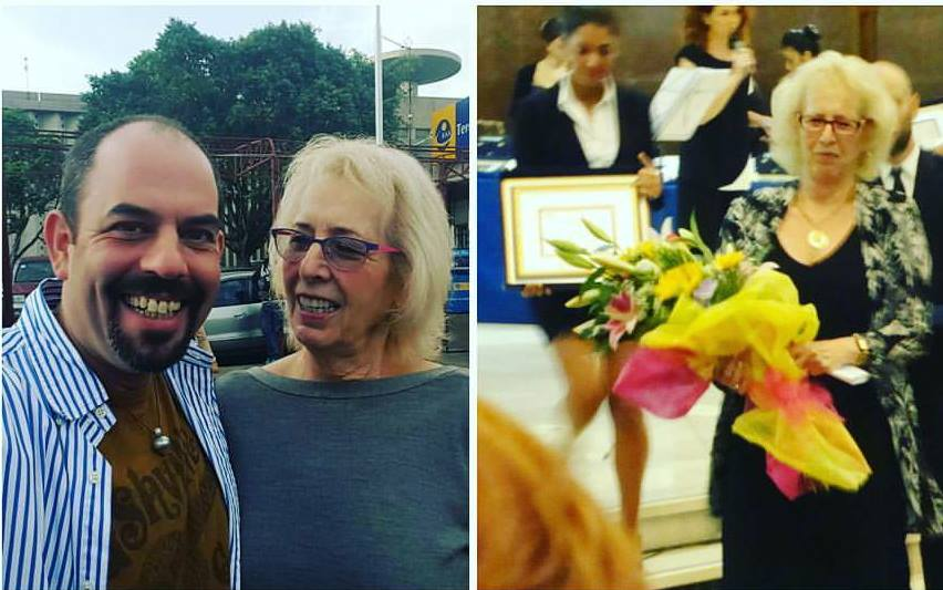 Former Israeli diplomat turn Kenyan pop star Gilad Millo pens a heartfelt letter to his 70 year old mother who still has a 'young spirit' (Photos)