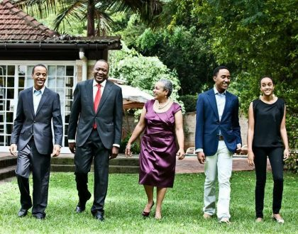 President Uhuru: My children Jaba, Jomo and Ngina Kenyatta moved out of family home