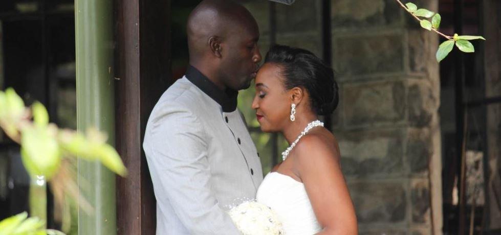 Dennis Okari and Betty Kyalo