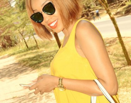 These hot photos of Swahili anchor Doreen Gatwiri totally redefine what being kissed by the sun is all about….just have a look