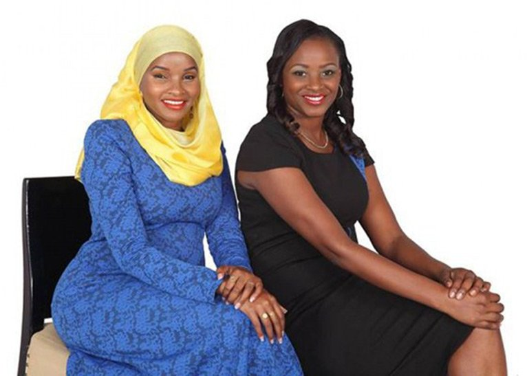 Lulu Hassan and Kanze Dena